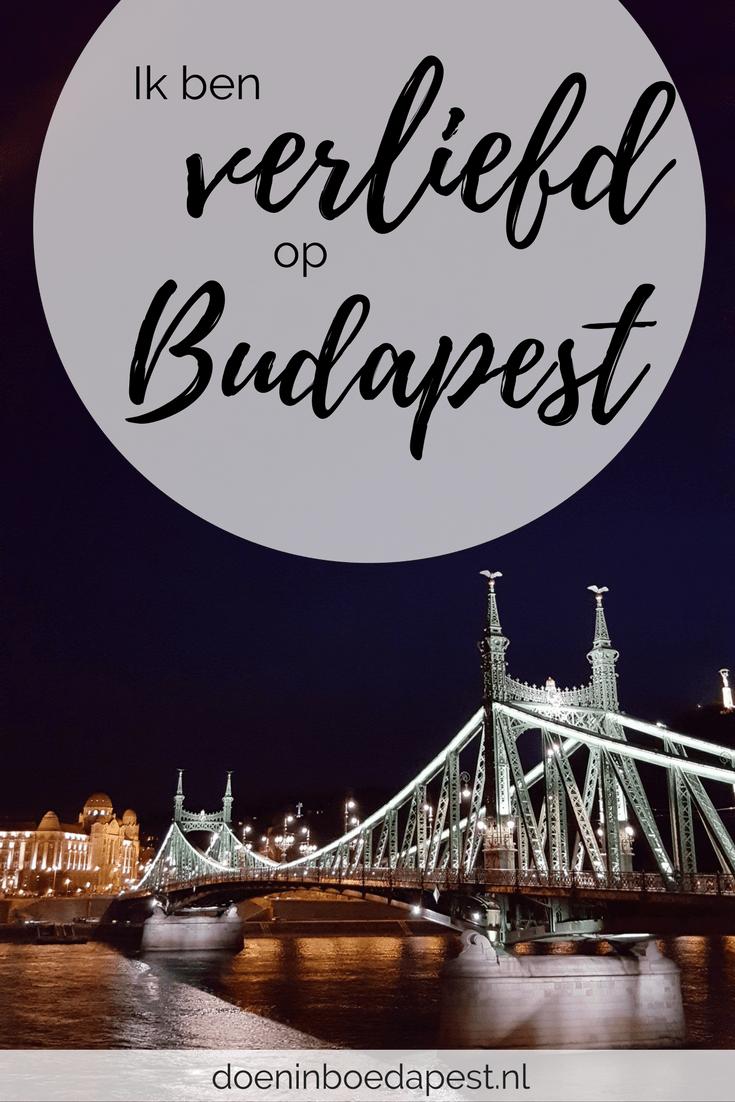 Ik ben verliefd op Boedapest! Hoe die liefde voor Boedapest tot stand kwam vertel ik op doeninboedapest.nl