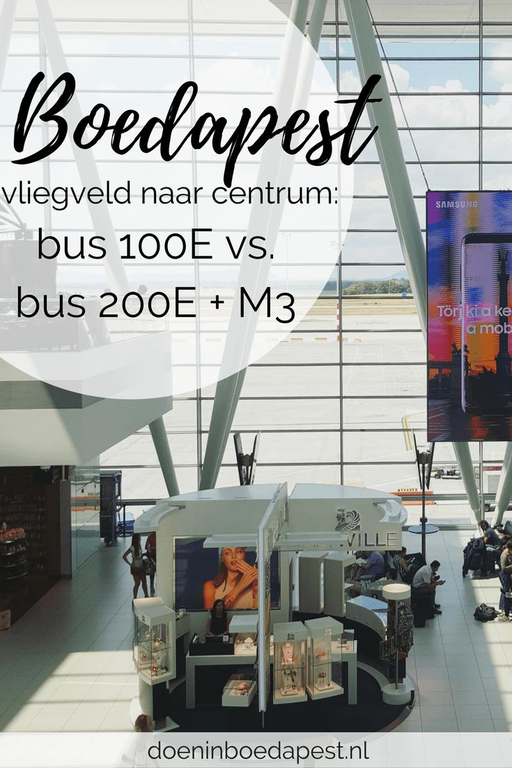 Onderweg naar Boedapest en weet je niet hoe je het beste met het OV naar het centrum gaat? 100E vs. 200E + M3: welke komt het beste uit de test? Lees meer op doeninboedapest.nl